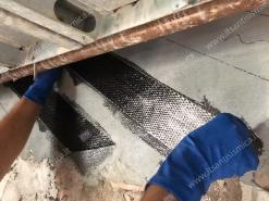 Applicazione fibra di carbonio