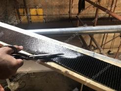 Taglio fibra di carbonio