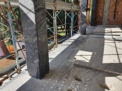 Rinforzo pilastri con FRP